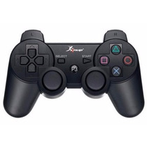 Controle Sem Fio Ps3 Knup Wireless Play Cabo + Usb