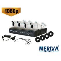 Mhd-840k+ Meriva Security Kit 1080p Mhd-840k+ Dvr 8ch Mhd-1