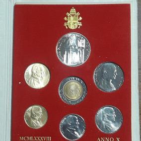 Blister Monedas,vaticano,1988