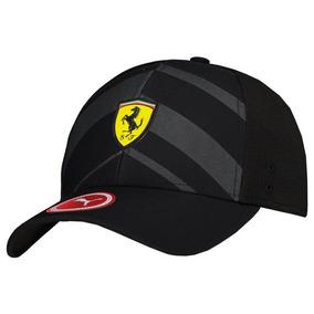 Boné Puma Scuderia Ferrari Fanwear Tech Preto a1e36f3a035