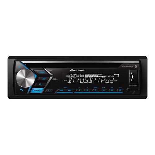 Estéreo para auto Pioneer DEH S4050BT con USB, bluetooth y lector de tarjeta SD