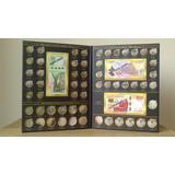Album Coleccionador Monedas Conmemorativas De 5 10 Y 20