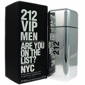 Perfume Carolina Herrera 212 Vip Men Masculino 200ml