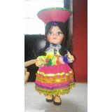 Yh Muñeca Chola Cholita Provinciana Traje Tipico Cambio Rema