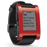 Reloj Pebble Time Smartwatch Rojo E-paper Resiste Agua 50mts