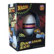 Huevo De Dinosaurio Se Rompe Y Crece En El Agua - Alt 6,5cm