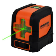 Nivel Laser Lineas Verde Hamilton Hnl100 Con Soporte 30 Mts