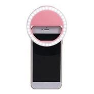 Selfie Ring Aro Luz Led Maquillaje Luminoso Videos Celu Jmp