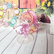 Figura De Acrílico Card Captor Sakura Kero Clamp Anime