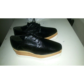 Zapatos Plataforma Oxford