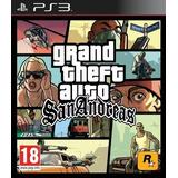Grand Theft Auto: San Andreas H. D. Ps3 Gta Entrego Hoy