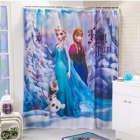 Cortina Para Baño Frozen Infantil Niñas Envio Gratis