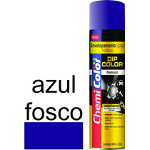 Tinta Envelopamento Dipcolor 400ml Azul Fosco