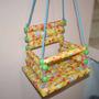 Balancinho Infantil Cadeira De Balanço Criança Em Madeira