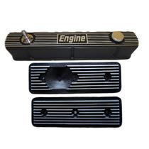 Kit Engine Tampa De Válvulas + Tampas De Tuchos - Opala 6cc