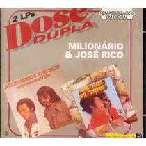 Milionário E José Rico 1977-79 Dose Dupla Cd Estrada Da Vida