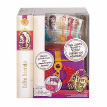 Cofre Secreto Ever After High Activado Voz Llaves Mattel