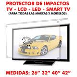 Protector De Impactos Para Tv Lcd Led Smart Tv 42 Pulgadas