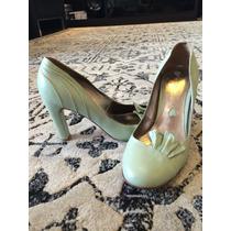 Sapato Maria Bonita Extra Verde Água