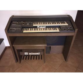 Órgão Eletrônico Minami Mdx 8100 - Com Defeito Não Liga Leia