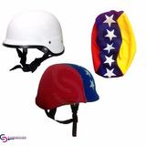 Casco Moto Combat Blanco C/forro De Venezuela