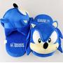 Pantufa Sonic The Hedgehog 28cm Frete Grátis