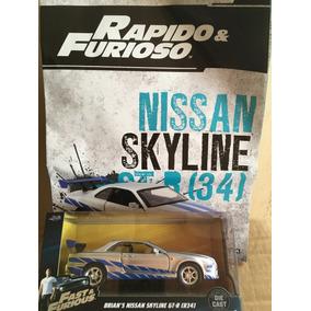 Coleccion Rápido Y Furioso Nissan Skyline 1:43 Jada