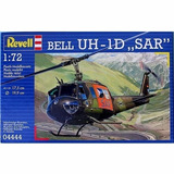 Bell Uh - 1d Sar By Revell Germany # 4444 1/72