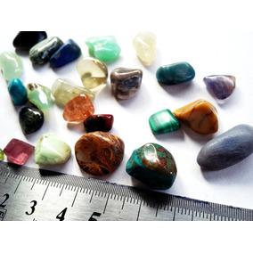 Monte Coleção C/15 Pedras Raras P/artesanato Ourives Coleção