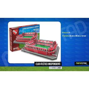 Maqueta Estadio 3d Para Armar Con Luces !!! Independiente