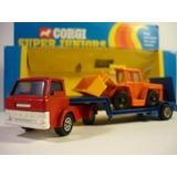 Corgi Camión Camabaja Y Cargador Frontal Año 1975