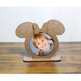 Porta Retrato Mickey E Minnie Mdf Cru Disney Corte Laser