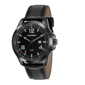 Relógio Masculino Mondaine Pulseira Em Couro 99245gomvph1