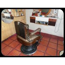 Cadeira De Barbeiro Antiga Marca Ferrante