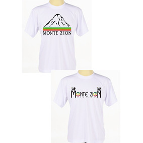 Kit C/ 2 Camisas Personalizadas Banda Reggae Monte Zion