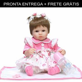 Bebe Reborn Boneca Silicone Menina Barata ( Pronta Entrega )
