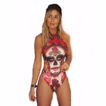 Body Tipo Maio Caveira Mexicana