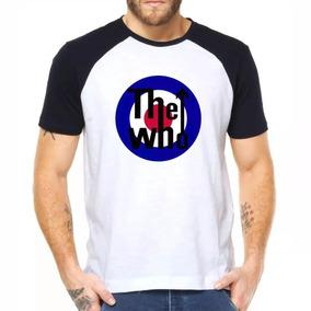 Camisa Camiseta Raglan The Who Banda Behind Blue Eyes Baba