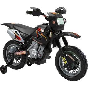 Moto Elétrica Infantil Cross 6v Vermelha / Preta / Amarela