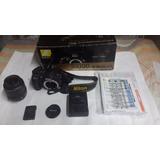 Camara Digital Reflex Nikon D3100 14.2mp Fhd Kit 18-55mm Vr