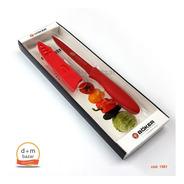 Cuchillo Boker Oficio Antiadherente 10 Cm Rojo