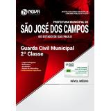 Apostila São José Dos Campos 2018 - Guarda Civil Municipal