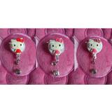 Hello Kitty, Porta Credencial-identificación Yoyo-clip