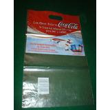 Coca Cola-bolsas De Publicidad (2) Usadas - Buen Estado (b)