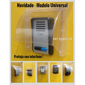 Protetor De Interfone Anti Chuva Amelco Hdl Intelbras
