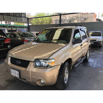 Ford Escape Xls V6, 2007, Excelentes Condiciones
