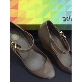 Sandália Melissa Prism N° 35 Bege/amarelo