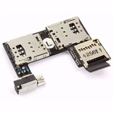 Slot Chip Sim G2 Xt1068 Xt1069 Leitor Cartão Micro Sd