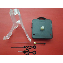 50 Atriles Para Cd Plasticos + 50 Maquinas Reloj