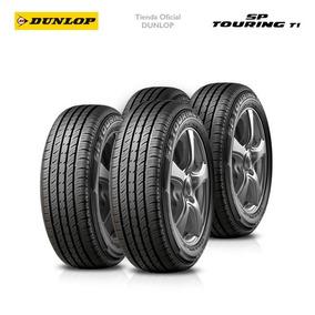 Kit X4 155/70 R12 Dunlop Sp Touring T1 +colocacion En 60suc.